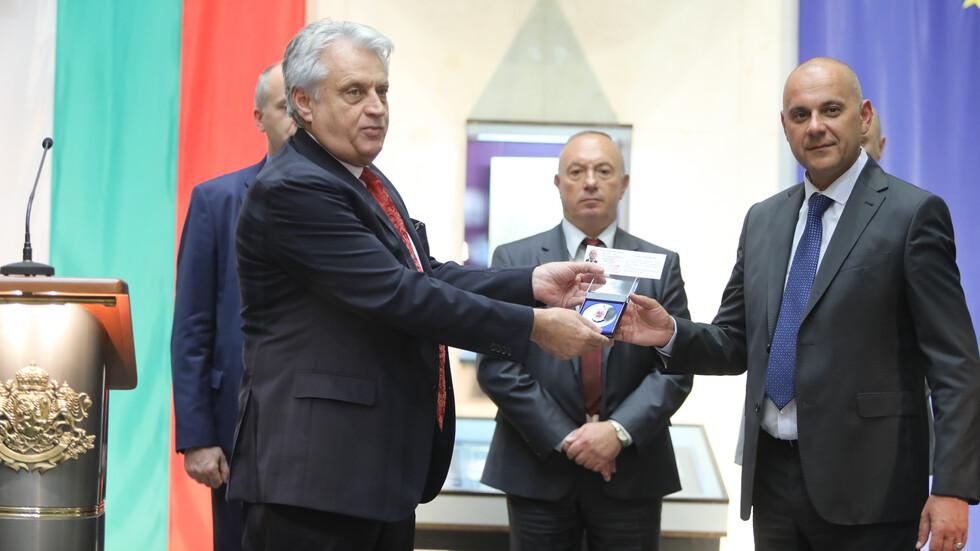 Рашков награди шефове на областни дирекции на МВР