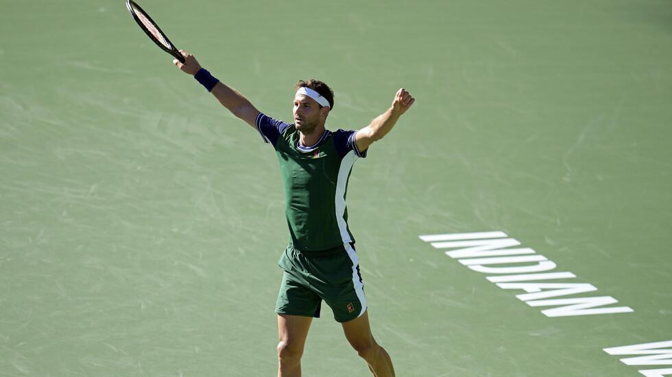 Григор Димитров повали шампиона от US Open след голяма битка