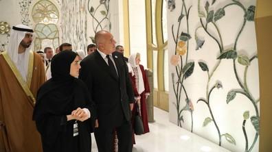 "Борисов посети Голямата джамия ""Шейх Зайед"""