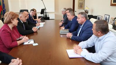 Премиерът Борисов се срещна с кметове на малки населени места