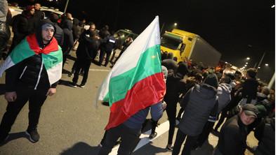 """Протестиращи блокираха магистрала """"Струма"""""""
