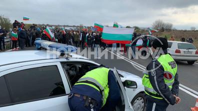 "ПРОТЕСТИ: Бургазлии блокираха АМ ""Тракия"""