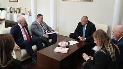 Борисов се срещна с представители на Камарата на строителите