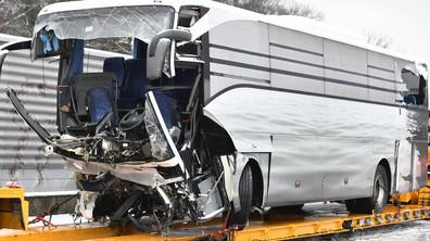 Тежка автобусна катастрофа край Цюрих