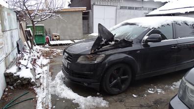 Изгоря джипът на благоевградски бизнесмен