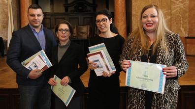 Журналисти на NOVA с награда за опазване чистотата на българския език