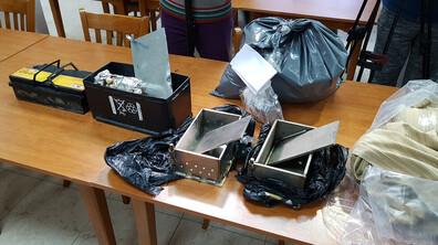 Задържаха 46 кг хероин и 13 кг амфетамини в Хасково и Благоевград