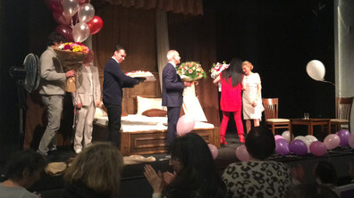 Лилия Маравиля отпразнува рождения си ден на сцената