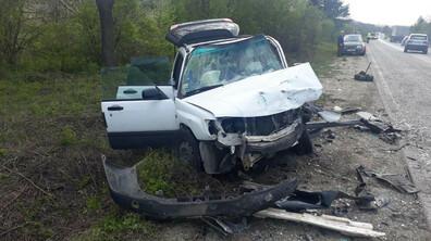 Четирима пострадаха при верижна катастрофа на пътя София - Велико Търново