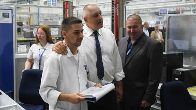 Борисов откри нови производствени площи в Пазарджик