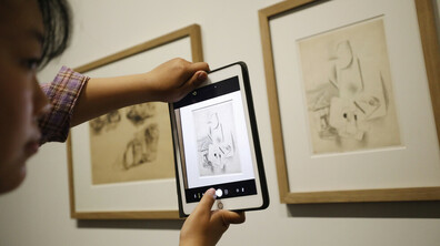 Откриха най-голямата в Китай изложба на Пикасо