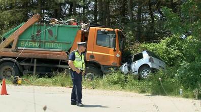 Две жертви и дете в тежко състояние след катастрофа край Варна