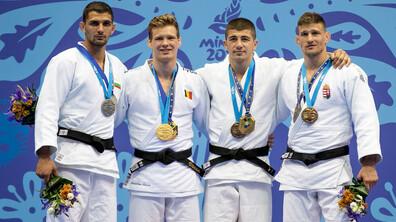 Ивайло Иванов стана европейски вицешампион по джудо на Игрите в Минск