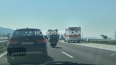 """Катастрофа с турски граждани на магистрала """"Тракия"""""""