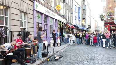 Градовете с най-много улични музиканти