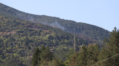 Овладян е пожарът край Реброво