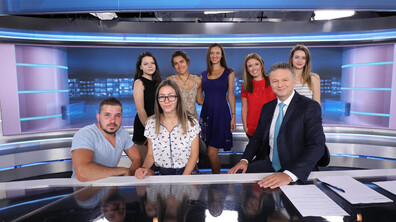 """Финалистите от """"Работилница за репортери 2019"""" на посещение в NOVA"""