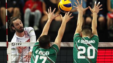 Европейско първенство по волейбол: България срещу Франция