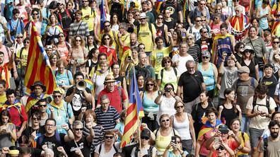 Повече от половин милион души на протест в Барселона