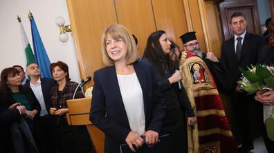 Йорданка Фандъкова и новите общинари полагат клетва