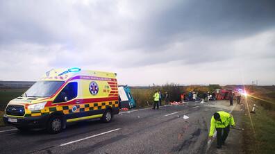 Автобус и камион катастрофираха в Словакия, има жертви