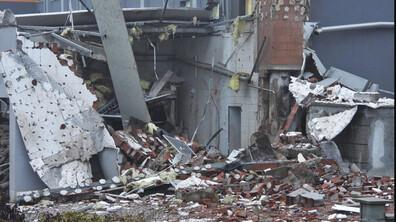 Парен котел гръмна, срути сграда в Харманли