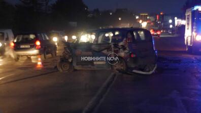 Четирима с опасност за живота след катастрофа в Шумен