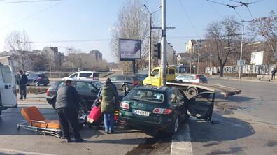 "Катастрофа на столичния бул. ""Сливница"", има жертва"