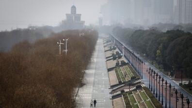 Призрачният китайски град Ухан
