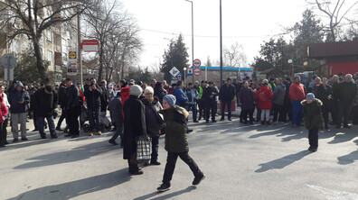 Протест блокира движението в района на граничен пункт Силистра