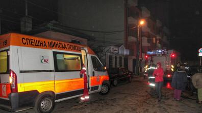 Взрив на газова бутилка вдигна на крак цял квартал в Русе