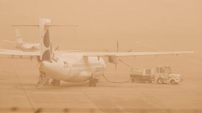 Пясъчна буря затвори летищата на Канарските острови