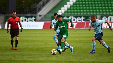 Лудогорец води с 4:0 срещу Дунав в Разград
