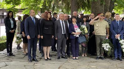 Президентът в Калофер в Деня на Ботев и загиналите за свободата на България