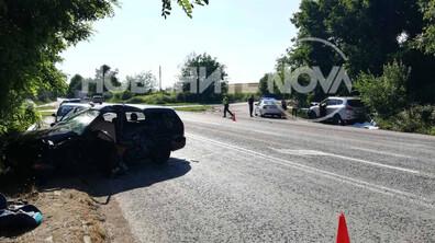 Мъж загина при тежка катастрофа на пътя Плевен - Бяла