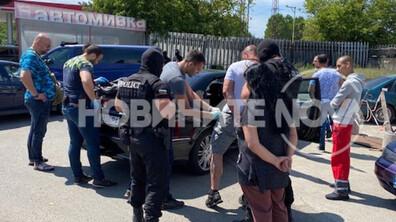 Арестуваха мъж в бензиностанция в Бургас