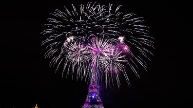 Зрелищен финал на националния празник на Франция