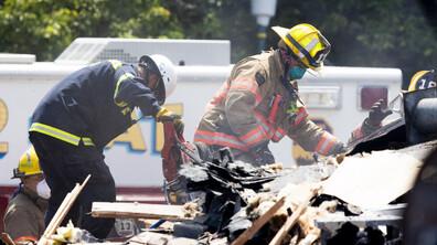 Силна експлозия срина къщи в квартал в Балтимор, има жертва