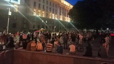 """Пореден протест на площад """"Независимост"""""""
