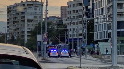 """Инцидент с тролей на бул.""""България"""""""