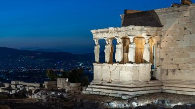 Нови светлини озариха Акропола в Атина