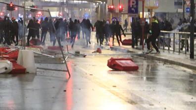 Сблъсъци по време на протест срещу мерките в Италия