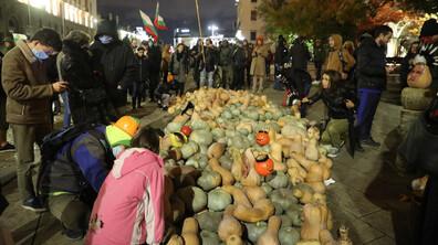115-и ден на антиправителствени протести в София