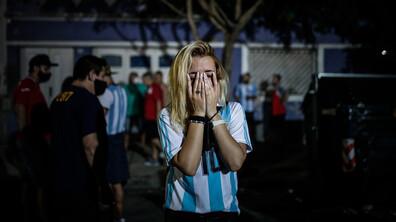 Феновете в Аржентина: Умряхме с Диего