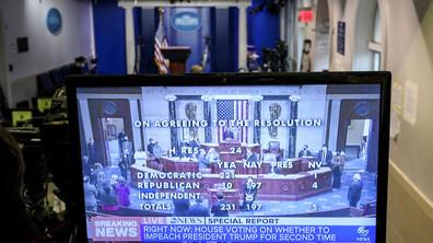 Втори импийчмънт за Тръмп заради подбуждане към безредици в Капитолия