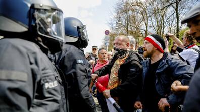 Протест в Германия срещу проектозакон за локдаун