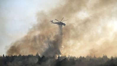 Огнен ад в Гърция