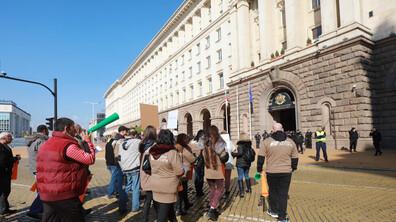 Бизнесът и синдикатите излязоха на протест
