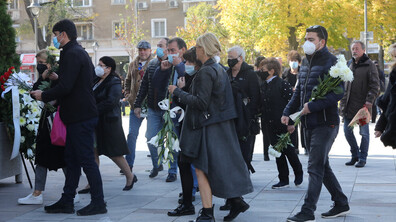 Близки и приятели се сбогуваха с Кирил Гоцев