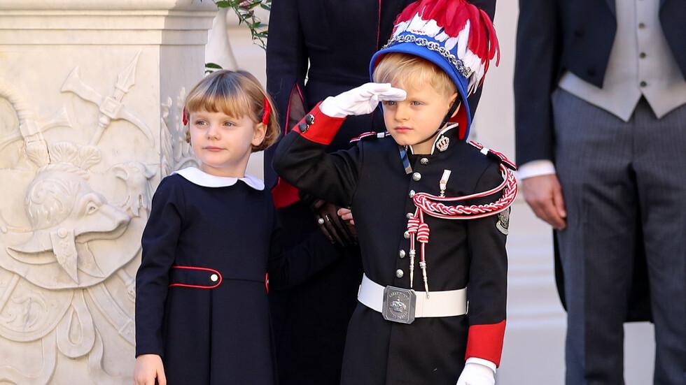 Малките наследници на трона в Монако